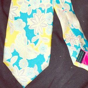 Lilly Pulitzer Men's necktie. Never worn. As new.